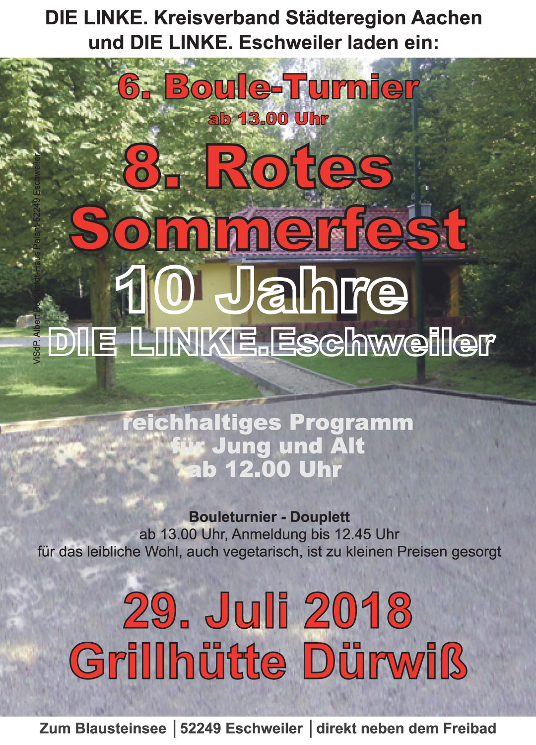 Rotes Sommerfest